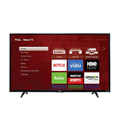 TCL 43UP130 43 in. LED 4K Ultra HD 120 Hz Smart Roku UHDTV