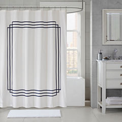 Madison Park Signature Coelho Applique Shower Curtain