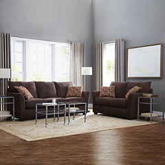 Oliver Custom Sofa and Loveseat Collection