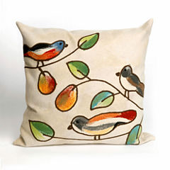 Liora Manne Visions Iii Song Birds Rectangular Outdoor Pillow