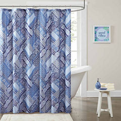 Intelligent Design Remy Printed Shower Curtain