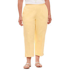 Plus Size Yellow Capris & Crops for Women - JCPenney