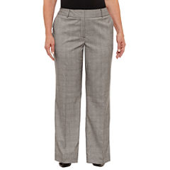 Liz Claiborne Curvy Fit Trousers Plus
