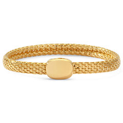 Monet® Gold-Tone Magnetic Closure Bracelet