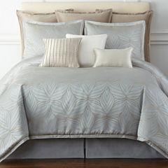 Liz Claiborne® Belaire 4-pc. Jacquard Comforter Set