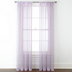 Home Expressions™ Kelsie Rod-Pocket Sheer Panel