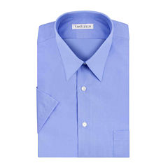 Van Heusen® Short-Sleeve Poplin Dress Shirt