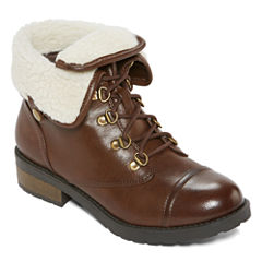 Arizona Daisy Lace-Up Booties
