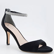 I. Miller® Valrie Crystal Ankle-Strap Sandals