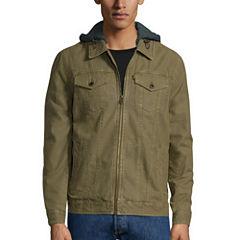 Levi's® Hooded Trucker Cotton Jacket