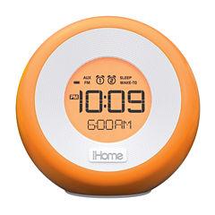 iHome® IM29SC Color-Changing Dual-Alarm Clock Radio