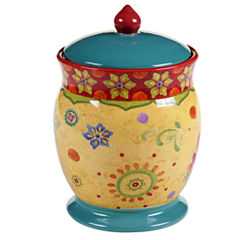 Certified International Tunisian Sunset Biscuit Jar