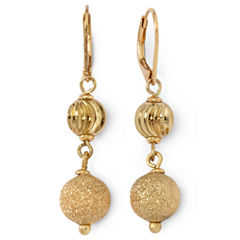 Monet® Gold-Tone Double-Drop Earrings
