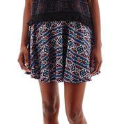 Olsenboye® Aztec Print Skater Skirt