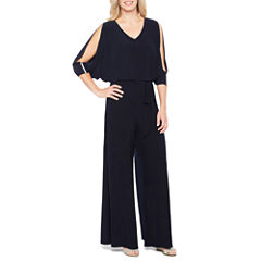 Msk 3/4 Sleeve Jumpsuit