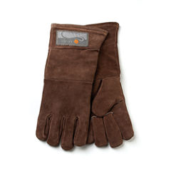 Fox Rub BBQ Leather Grill Gloves