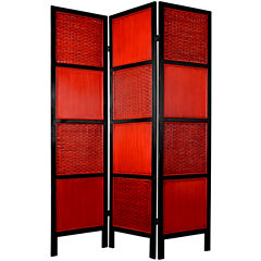 Oriental Furniture 6 Tainan Room Divider