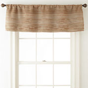 Studio™ Rhythm Rod-Pocket/Back-Tab Lined Valance