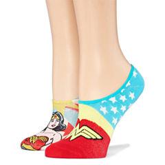 2 Pair Knit Liner Socks
