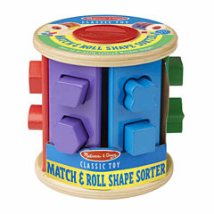 Melissa & Doug® Match & Roll Shape Sorter
