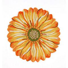 Liora Manne Frontporch Sunflower Hand Tufted Rectangular Rugs