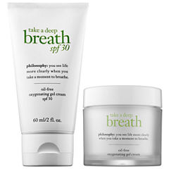 philosophy Take A Deep Breath and SPF Duo