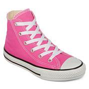 Converse® Chuck Taylor All Star High-Top Girls Sneakers - Little Kids