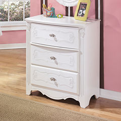 Signature Design by Ashley® Exquisite Three-Drawer Chest