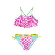 Big Chill 2-pc. Triangle-Print Bikini Swimsuit - Girls 7-16