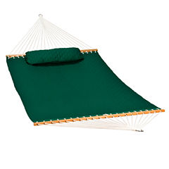 13-Foot Diamond Quilted With Pillow 2-Pc. Set Hammock
