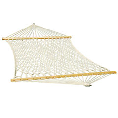 Single Cotton Rope Hammock
