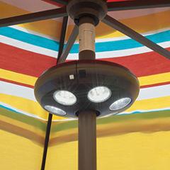 4-Light Rechargeable LED Umbrella Light