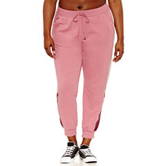 Flirtitude Jogger Pants-Juniors Plus