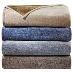 Woolrich Heathered Plush Blanket