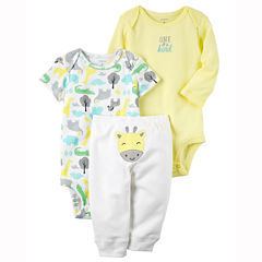 Carter's Little Baby Basics Neutral Turn-Me-Around Set