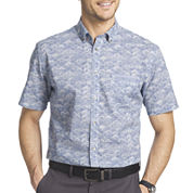 Van Heusen® Short-Sleeve Button-Front Woven Shirt