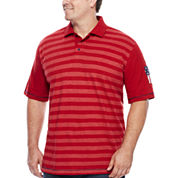 Lee® Short-Sleeve Stars and Stripes Polo - Big & Tall
