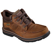 Skechers® Melego Mens Leather Boots