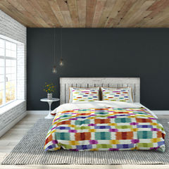Colorfly™ Barnaby 3-pc. Duvet Cover Set & Accessories