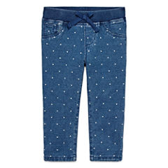 Arizona Azg Dot Jogger Pull-On Pants Girls