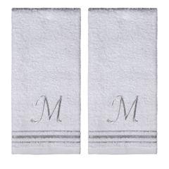 Saturday Knight 2-Pack M Monogram Hand Towel