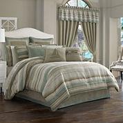 Queen Street® Nantucket 4-pc. Jacquard Chenille Comforter Set & Accessories