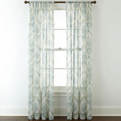 Royal Velvet® Altura Rod-Pocket Sheer Panel