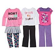 Okie Dokie® Tees, Skort, Leggings or Yoga Pants - Toddler Girls 2t-5t