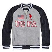 U.S. Polo Assn.® Fleece Bomber Jacket - Boys 8-20