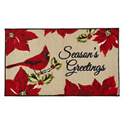 JCPenney Home™ Seasons Greetings Accent Rug