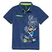 Disney® Miles Short-Sleeve Cotton Polo - Boys