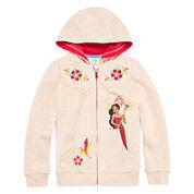 Disney Collection Elena Fleece Jacket - Girls