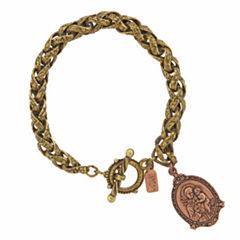 Symbols Of Faith Religious Jewelry Womens Charm Bracelet