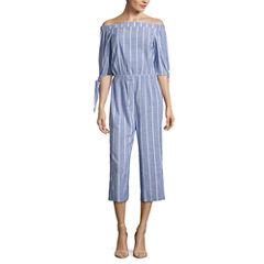 Kelly Renee 3/4 Sleeve Jumpsuit